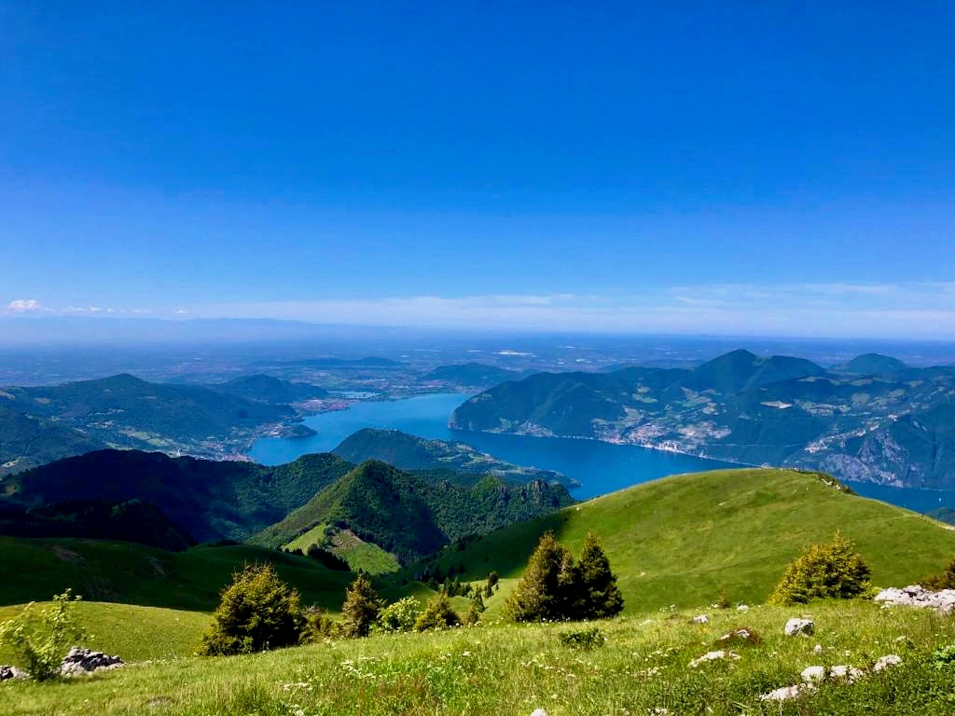 trekking lago d'iseo